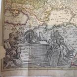 Карта московской империи 1704 г.