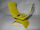 Металлический подлокотник (Garret,X-terra и др.) желтый.