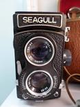 Seagull двух объективный среднеформатный фотоаппарат photo 2