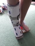 Пластиковый фиксатор для ноги