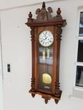 Часы настенные з гирями Gustav Becker
