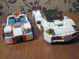 2 машинки лего