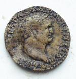 Сестерций Римского императора Веспасиана.