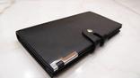 Мужской черный портмоне купюрник