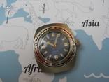 Часы восток амфибия бочка с ремешком ZULY photo 2
