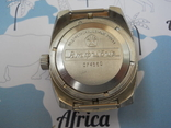 Часы восток амфибия бочка с ремешком ZULY photo 3