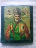Икона на дереве 26,5см на 23см.Николай Чудотворец.