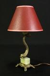 Винтажный светильник. Латунь. Оникс. Европа. (0573)