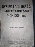 1911 Крепостное право и крестьянская жизнь