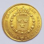 Дукат 1821 г. Швеция photo 1