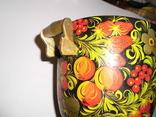 Самовар с подставкой (хохлома), фото №18