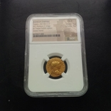 Ауреус Траяна 98-117 гг 7,23 грамма золота в слабе NGC photo 1