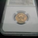 Ауреус Траяна 98-117 гг 7,23 грамма золота в слабе NGC photo 5
