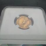 Ауреус Траяна 98-117 гг 7,23 грамма золота в слабе NGC photo 6