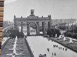 1272. Почтовая карточка Москва Центральный вход ВДНХ 1966 год photo 2