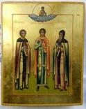Святой Пантелеймон с предстоящими