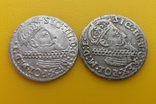 Монеты трояк ( 3 гроша.) 1623 - 1624 год. Сигизмунд III Ваза.