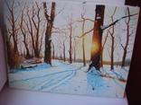 ''Зимовий ліс''.Холст, масло. 30*40. А.Михайленко