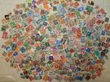 Лот иностранных марок 450шт.