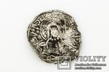 Сребреник Владимира I-го типа, II-го подтипа (надписи: Владимир на столе / Исус Христос)