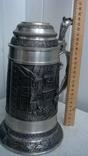 Большая оловянная кружка весом 1,275кг photo 6