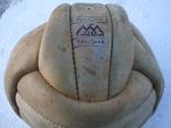 Кожаный футбольный мяч из СССР photo 2