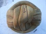 Кожаный футбольный мяч из СССР photo 4