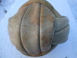 Кожаный футбольный мяч из СССР photo 5