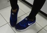 0003 Женские Кроссовки Nike, легкие, в сетку, цвет-Синий 37 размер