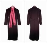 Пальто Liz Claiborne. Длинное и чёрное.