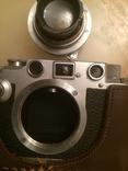Фотоаппарат LEICA D.R.P. военный номерной с комплектом объективов в отличном состоянии photo 8