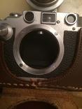 Фотоаппарат LEICA D.R.P. военный номерной с комплектом объективов в отличном состоянии, фото №10