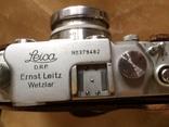 Фотоаппарат LEICA D.R.P. военный номерной с комплектом объективов в отличном состоянии, фото №13