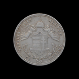 1 Форинт 1868 GYF Ангелы, Австро-Венгрия