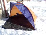 Большая палатка-козырёк для рыбалки