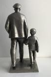 Ленин с ребенком, фото №3