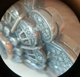 Золотой браслет 56 пробы с бриллиантами photo 7