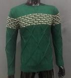 Шерстяной свитер - кофта. M