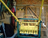 Машина, вибропресс для изготовления шлакоблоков