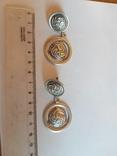 Серьги 925 проба серебро. Украина. photo 1