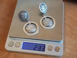 Серьги 925 проба серебро. Украина. photo 11