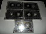 Аудиокассета кассета TDK D60 и D74 - 5 шт в лоте, фото №2