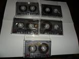 Аудиокассета кассета TDK D60 и D74 - 5 шт в лоте, фото №3
