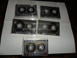 Аудиокассета кассета TDK D60 и D74 - 5 шт в лоте, фото №6