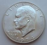 1 доллар США 1974 Лунный S - Сан Франциско (серебро)