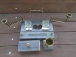 Старинный настольный прибор мрамор бронза