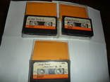 Аудиокассета кассета Basf LH extra I 90 - 3 шт в лоте + бонус, фото №3