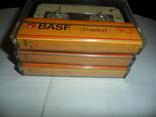 Аудиокассета кассета Basf LH extra I 90 - 3 шт в лоте + бонус, фото №6