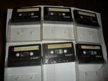 Аудиокассета кассета Basf Ferro Extra I 90 и 60 - 6 шт в лоте, фото №2