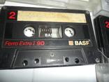 Аудиокассета кассета Basf Ferro Extra I 90 и 60 - 6 шт в лоте, фото №4